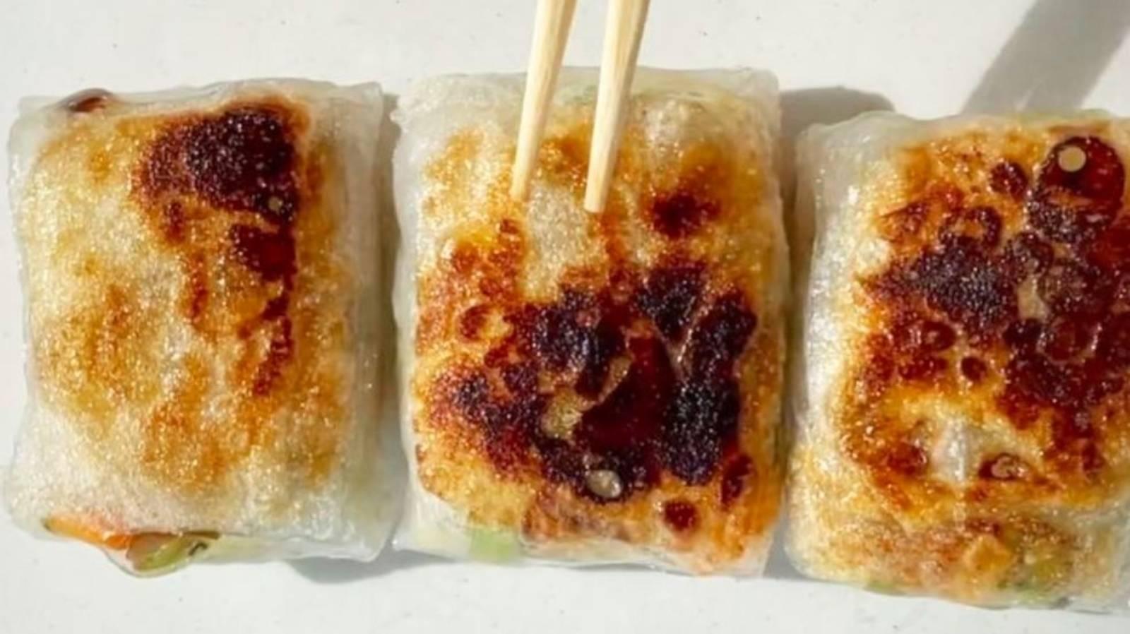 The simple TikTok recipe for mouthwatering rice-paper dumplings