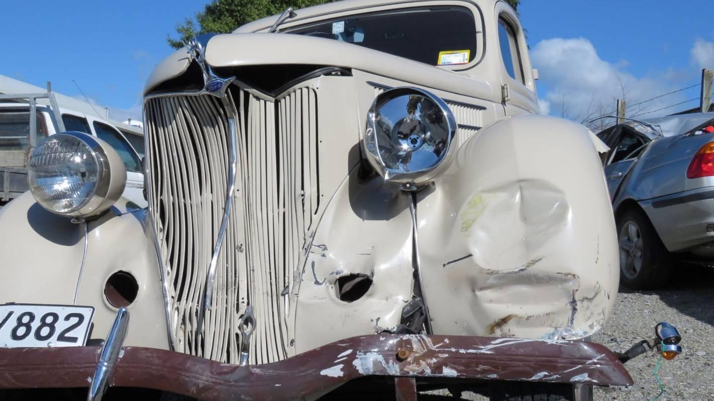 Police car crash 'felt like something had fallen out of the sky'