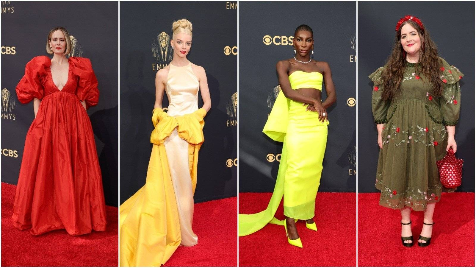 Ensemble's best dressed at the Emmy Awards