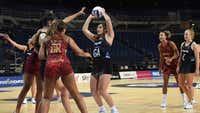 Tiana Metuarau shines as Silver Ferns win opener against England