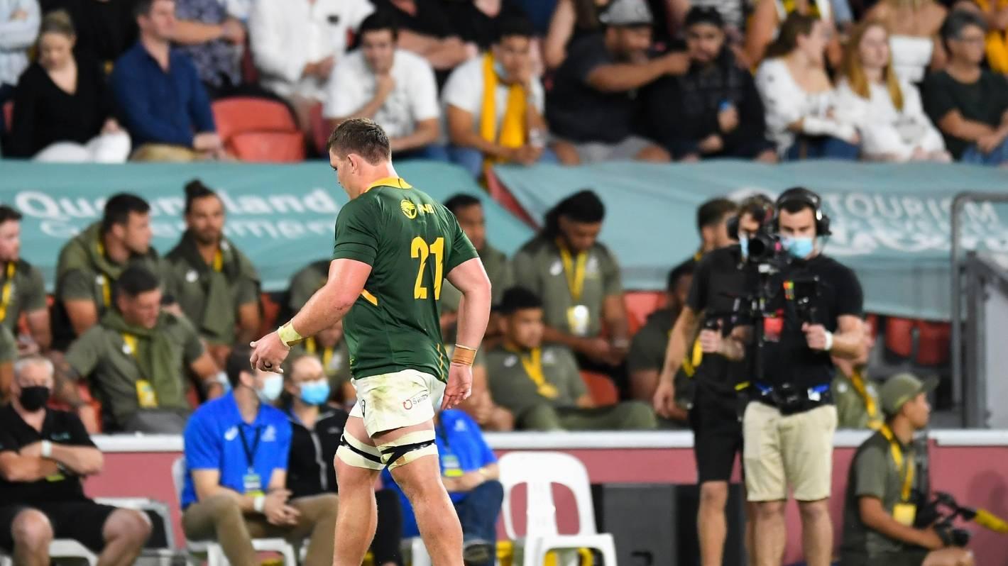 All Blacks v Springboks: South African loose forward Jasper Wiese cited for foul play