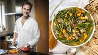Sam Mannering cook along: Chicken curry with yoghurt naan