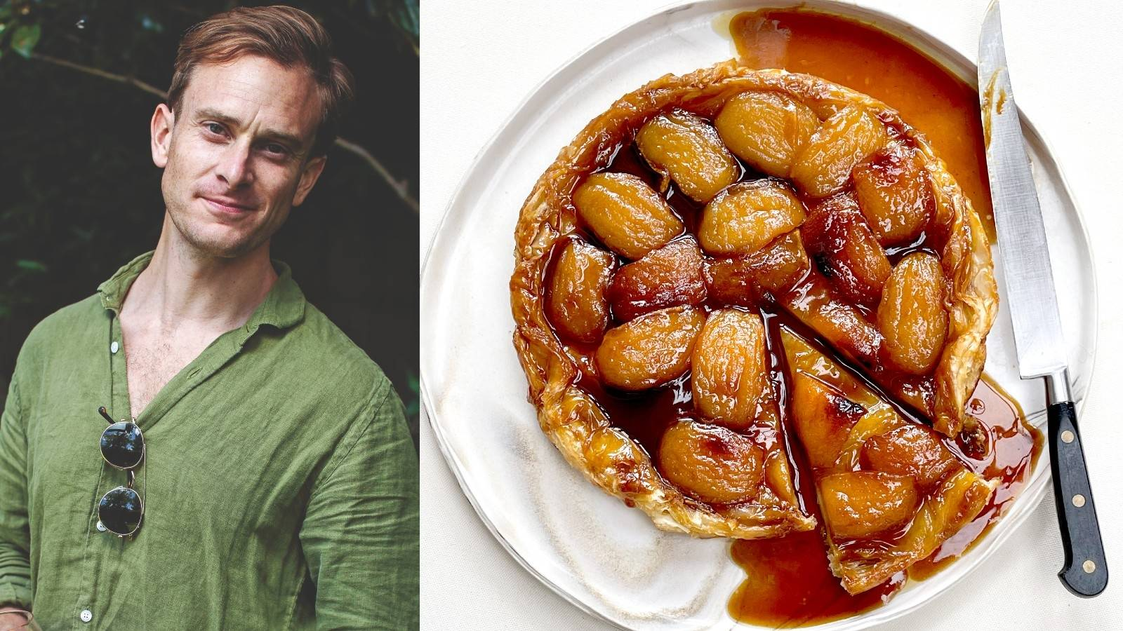 Cook along with Sam Mannering as he makes curry, naan and tarte tatin