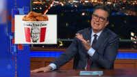 Colbert jokes about NZ's 'Kentucky Fried Bandits'