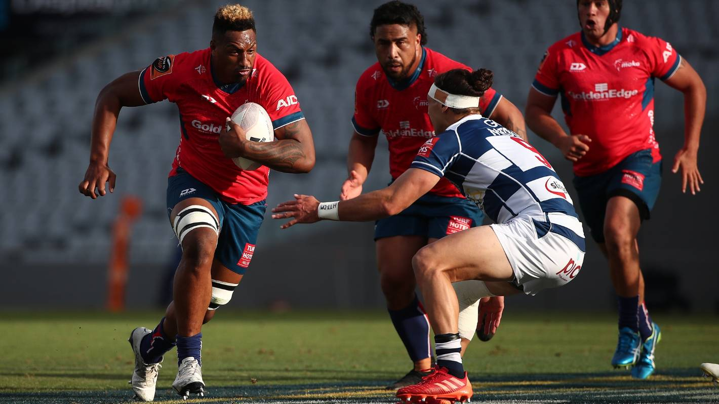 Super Rugby Pacific: Fijian Drua lure New Zealand-born Tasman lock Te Ahiwaru Cirikidaveta