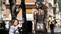 'Sexist' or 'impeccable'? Scantily-clad statue divides Italy