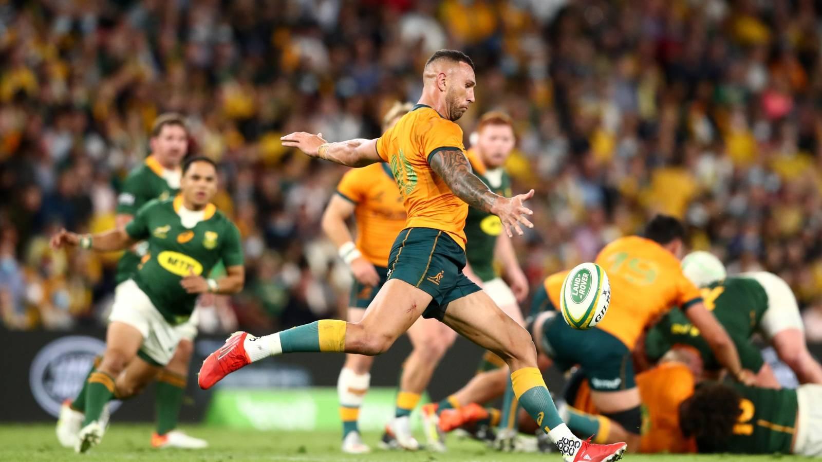 'Above my pay grade': Quade Cooper in the dark over Australia availability