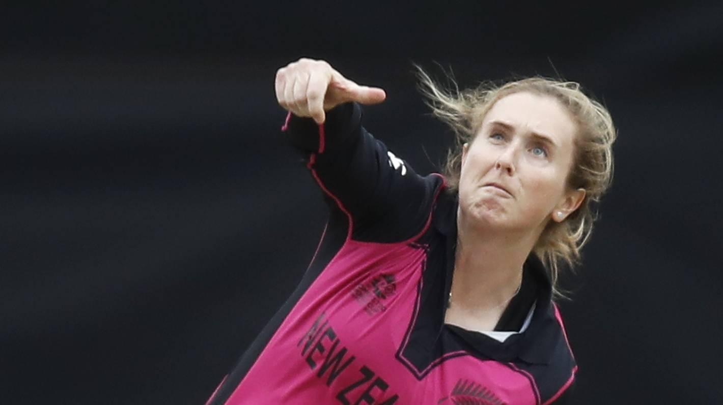 White Ferns all-rounder Anna Peterson retires from international cricket |  Stuff.co.nz