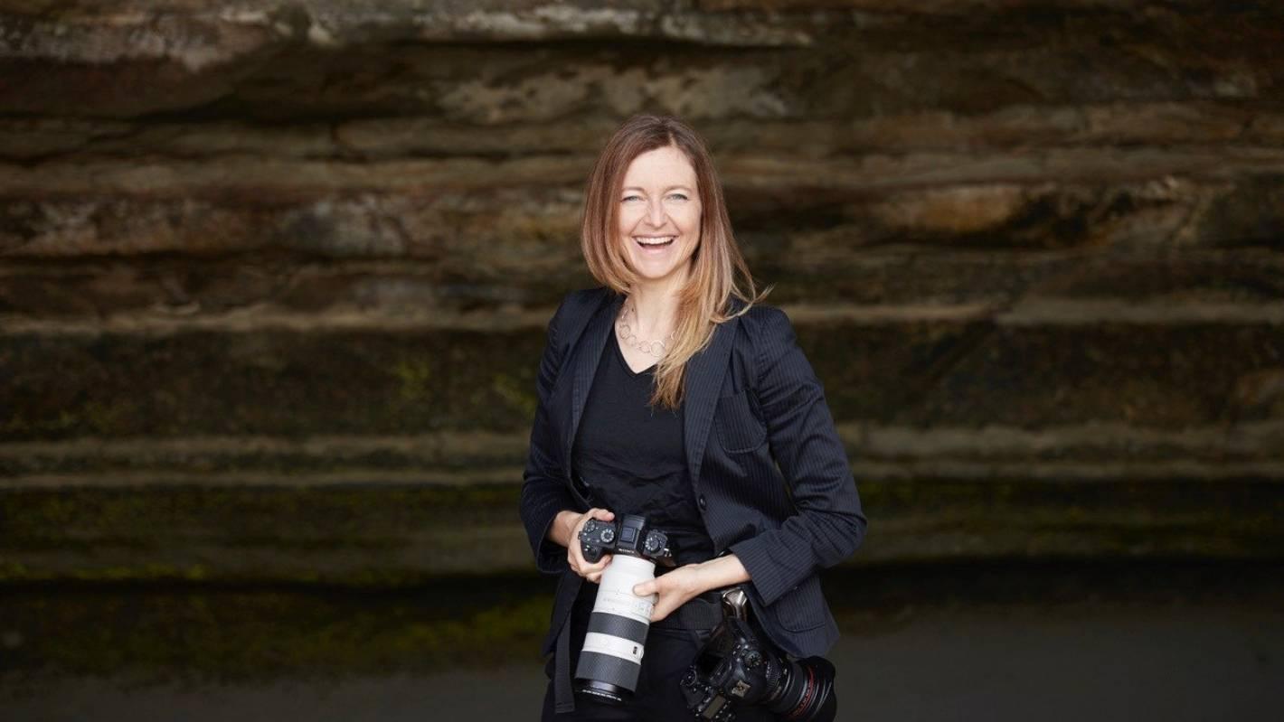 New Zealand's very own Bond girl: Kiwi photographer's iconic James Bond photo