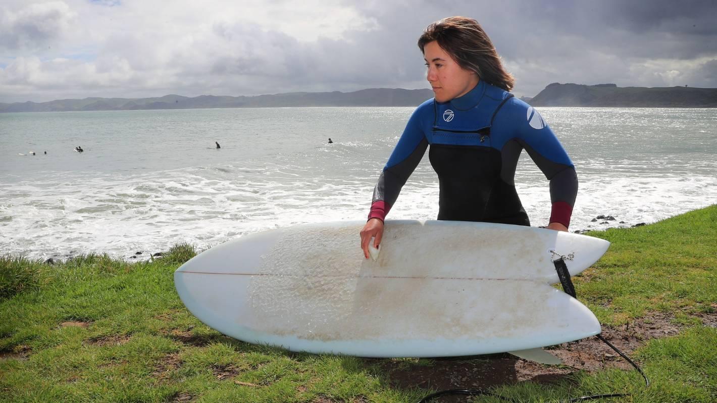Surfers eye silver lining to Raglan's Covid-19 lockdown