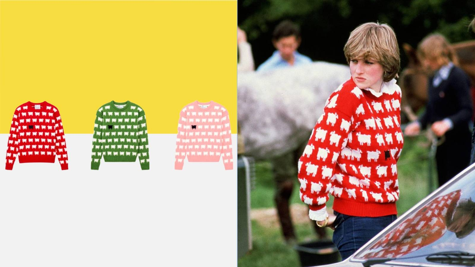 Princess Diana's most iconic sweater is available to buy again
