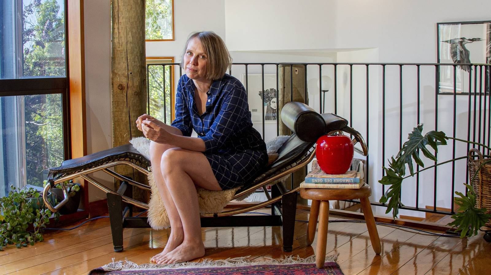 Living in a 'grown-up tree house'