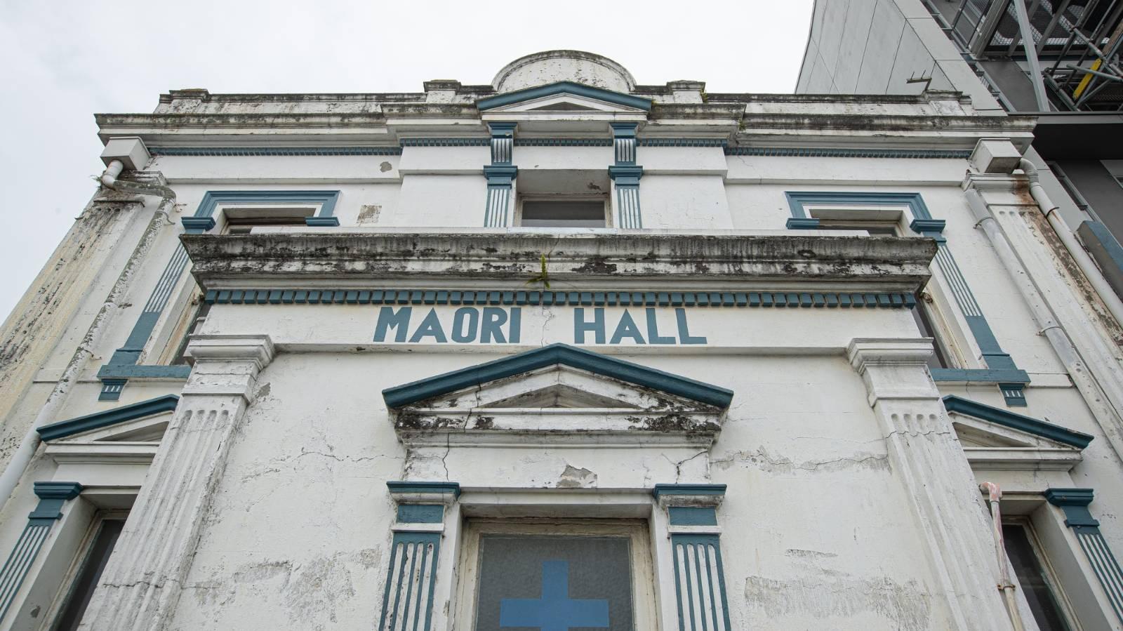 Refurbishment begins to save Auckland's Māori Hall
