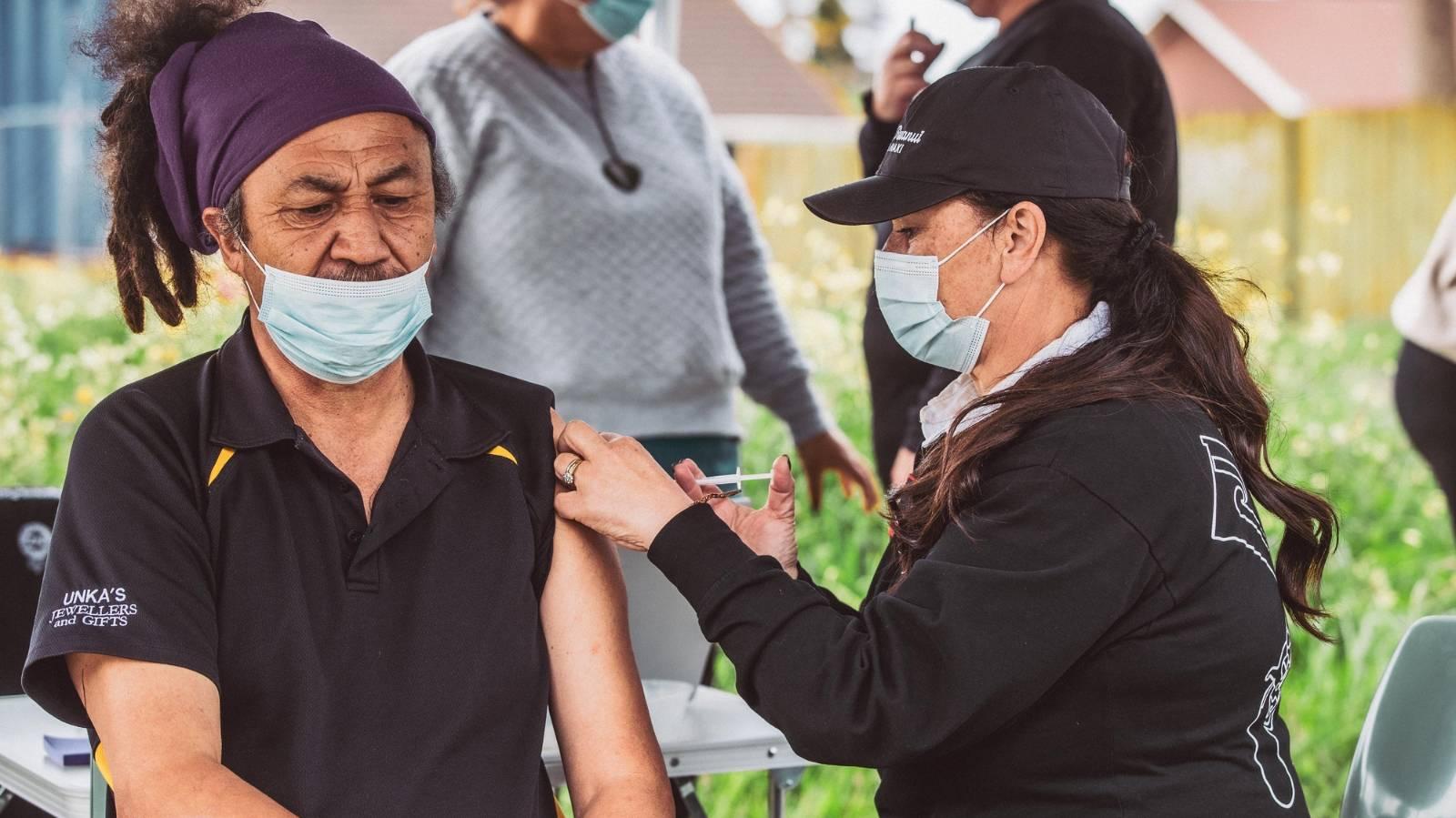 Iwi's door-to-door vaccinations a success