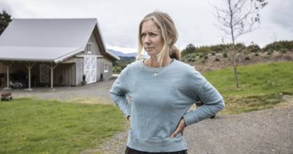 Waikanae resident Lynore Oakley's lifestyle block was one of several Huia St properties that an alleged gunman entered ...