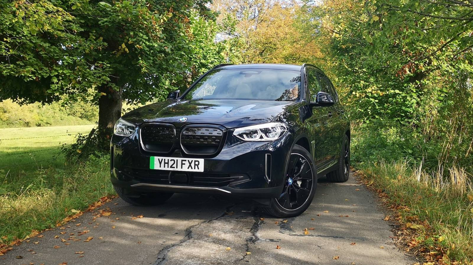 Silent running: the BMW iX3 whispers its green-creds