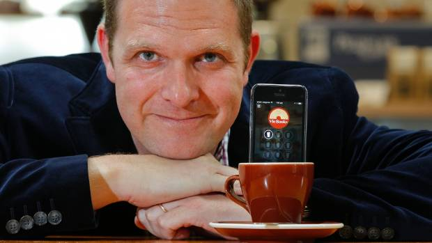 ONE SHOT: Nathan Donaldson from Boost has developed an app for shopper loyalty schemes.