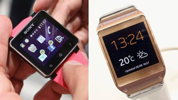 DEAR SANTA....: The Sony SmartWatch 2 and the Samsung Galaxy Gear.