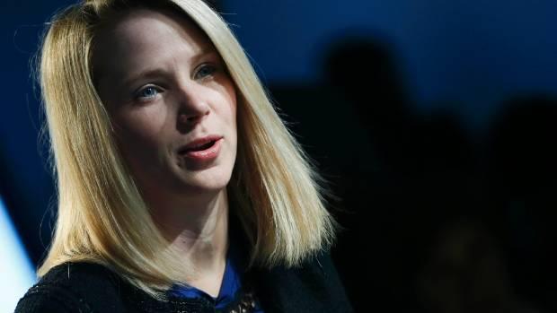 APOLOGY: Yahoo Chief Executive Marissa Mayer.