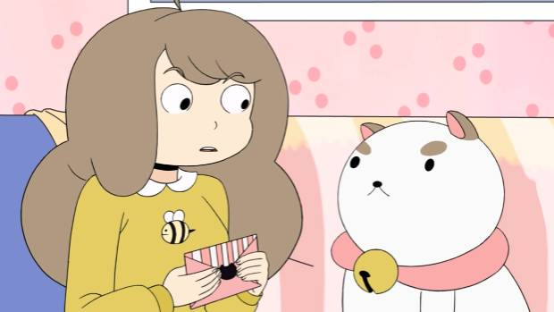 I WANT MY TOON TV: Cartoon Hangover's Bee and PuppyCat web series, written and created by Natasha Allegri.