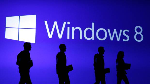 TINTED: Windows 8 has received a lukewarm reception.