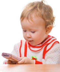 SELFIE-ISH: The instant gratification that smartphones provide today's toddlers is going to be hard to overcome, ...