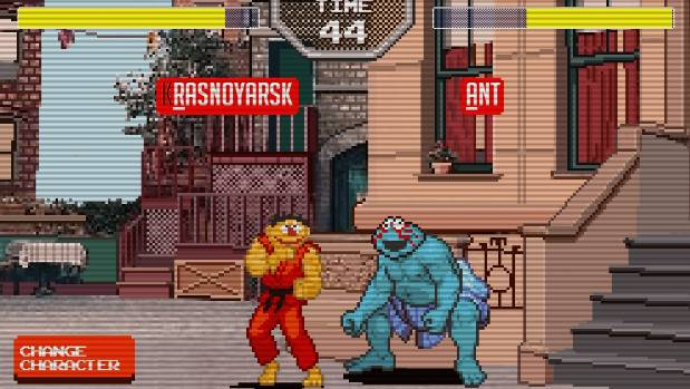 MUPPET MASH-UP: Sesame Street Fighter is a browser-based, semi-educational beat-em-up that involves spelling out kicks ...