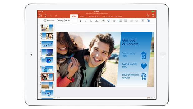 REFRESH: Users can now download Microsoft Word, Excel and PowerPoint for iPad from the Apple app Store.