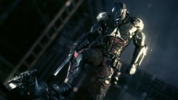 UNDER THE HOOD? A unique Arkham Knight villain has been created by Rocksteady and DC Comics specifically for the new ...