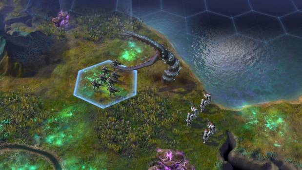 COME IN PEACE: Sid Meier's Civilization: Beyond Earth expands your empire to alien planets.