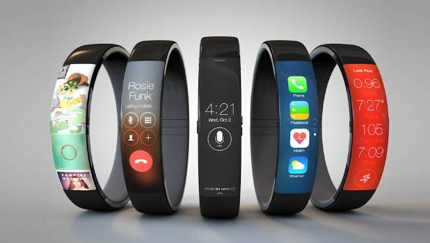 AN APPLE A DAY: One of the many iWatch concept photos making the rounds online.