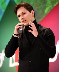IN CONTACT: Pavel Durov of Vkontakte at the Digital Life Design conference in Munich, Germany, in January 2012.