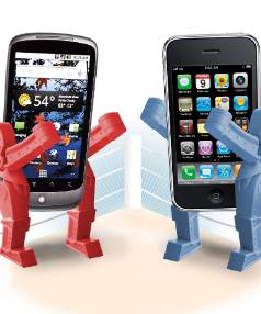 DRAW: Google and Apple have told a US appeals court that all their smartphone patent cases against each other should be ...