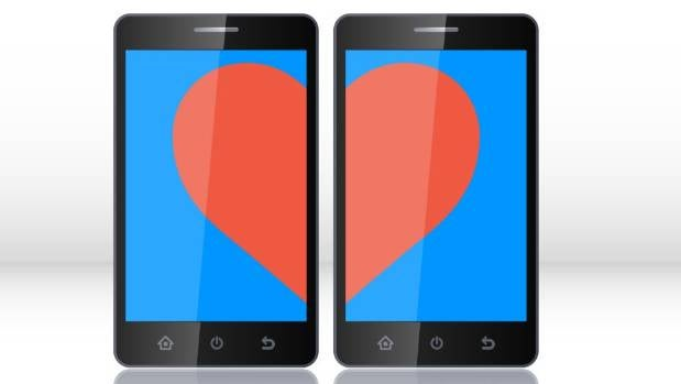 LOVE BYTES: Numerous apps are available for lonely hearts.