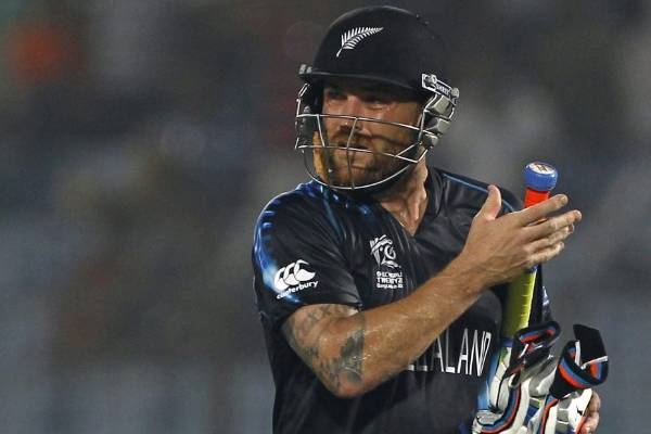 Black Caps captain Brendon McCullum