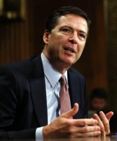 HIGH HOPES: FBI Director James Comey.