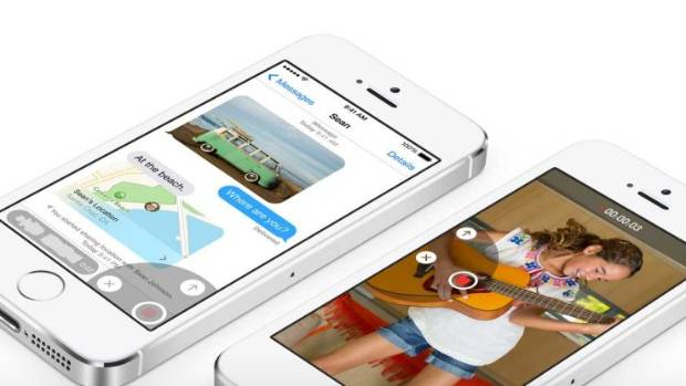 NEW MESSAGE: Apple iOS8
