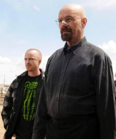 KNOCK, KNOCK: Breaking Bad won Twitter in its final season.