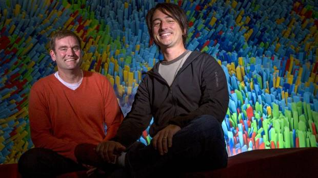 David Treadwell and Joe Belfiore, corporate vice presidents in Microsoft's Operating Systems Group, have been fascinated ...