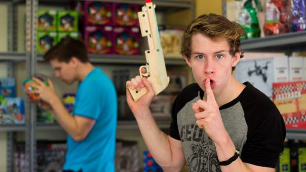 Simply Clever Toys co-owners and brothers Matthew Dawson (left) and Jacob Dawson (right).