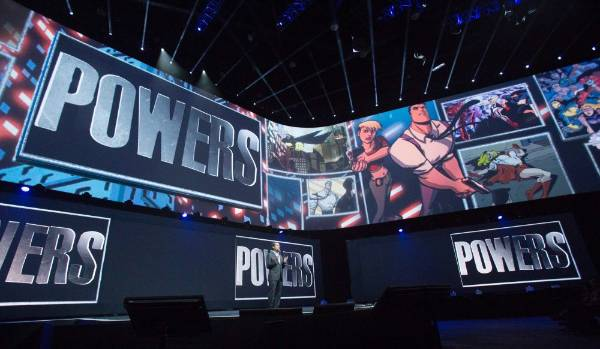 President and group chief executive officer of Sony Computer Entertainment Andrew House presents the exclusive digital ...