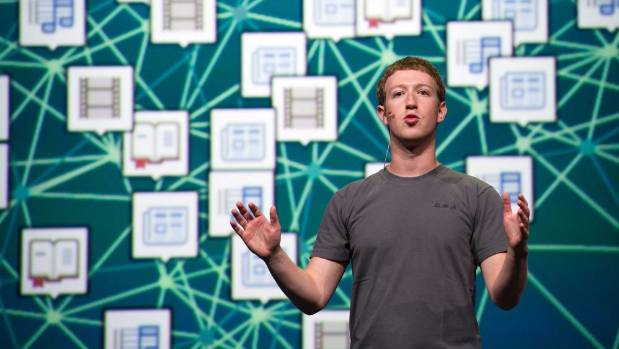 BROSWER BROTHER: Facebook chief executive officer Mark Zuckerberg.