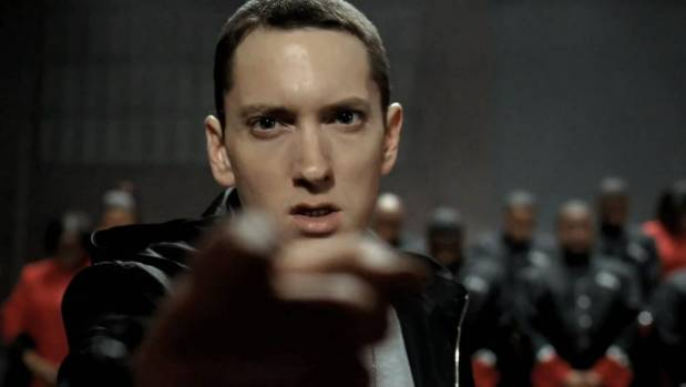 Eminem takes on the Donald in his latest track.