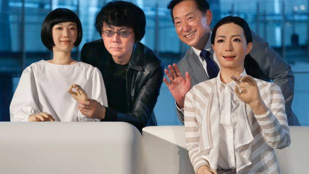 PROTOCOL DROIDS: Japanese android expert Hiroshi Ishiguro and National Museum of Emerging Science and Innovation ...
