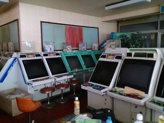 Abandoned arcade games discovered when a grandmother bought a building in Japan.