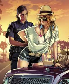 HOT PURSUIT: Lindsay Lohan alleges that the character of Lacy Jonas in Grand Theft Auto V is an unlicensed use of her image.