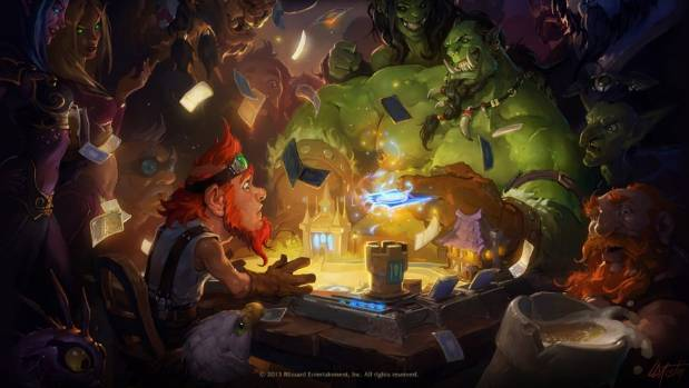 SHUFFLE OFF: Hearthstone: Heroes of Warcraft is a free-to-play digital collectible card game.