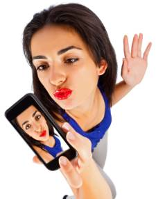 EXPLOSIVE COMBO: Self-deleting selfies are helpful but experts warn young people can still be victims of unwise postings.