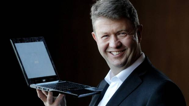 DAVID CUNLIFFE: Plotting a high-tech future.