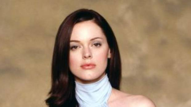 Actress Rose McGowan, star of the Scream movies, received a settlement from Harvey Weinstein for US$100,000. (File photo)